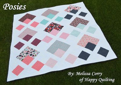 Posy Garden Hop And Quilt!!! | Happy Quilting | Bloglovin'