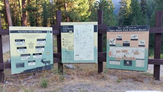 So many wonders to see at the Upper South Fork Payette River, Idaho.