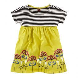 Otti's Blumen Empire Dress | This modern dress is named for one of the women of Bauhaus, Otti Berger.: Baby Toddler Clothes, Toddler Girls, Girls Dresses, Girls Tea, Girls Ottis, Collection Girls, Baby Kids Clothes, Baby Girl Clothes