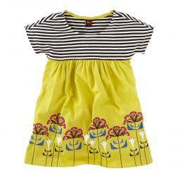 Otti's Blumen Empire Dress | This modern dress is named for one of the women of Bauhaus, Otti Berger.