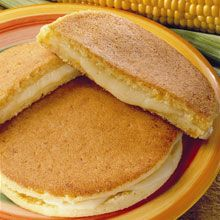 Mmm, arepas! These cornmeal patties are native to Colombia and Venezuela and are so delicious. Made with corn flour and cheese they can be an addition to any meal, any time of day.