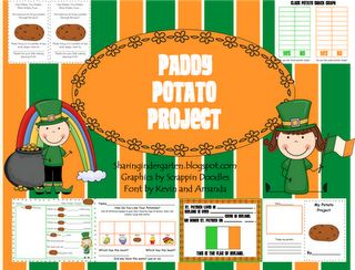 FREE 17 day pack for Potatoes! Printables, activities, ALL of it.