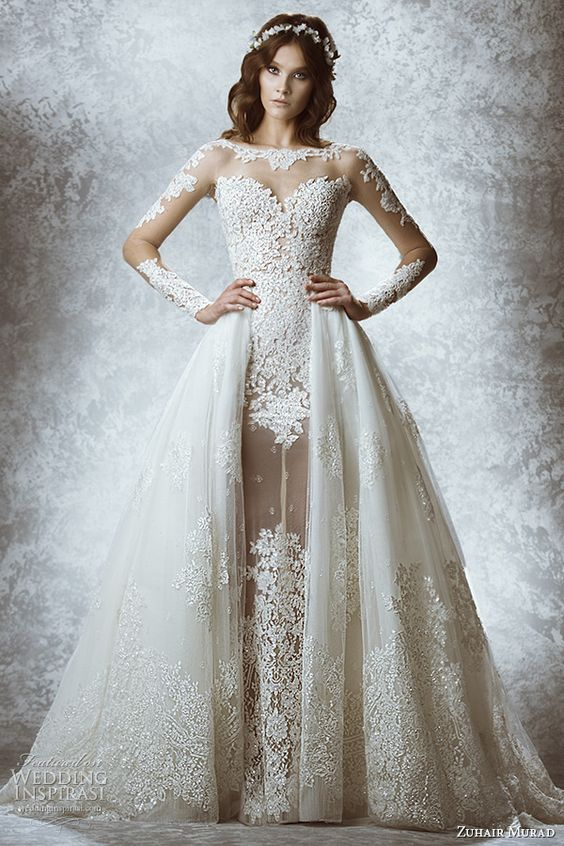 Zuhair Murad Bridal Fall 2015 Wedding Dresses | Wedding Inspirasi: