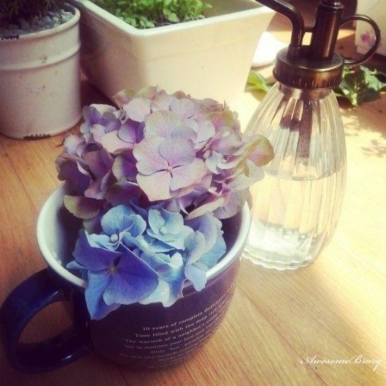 My mug = vase too :)