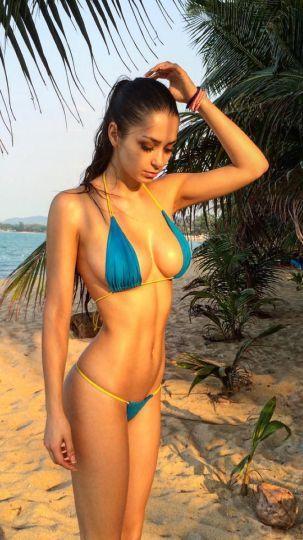 Exuberante modelo rusa confiesa su gusto por crack latinoamericano