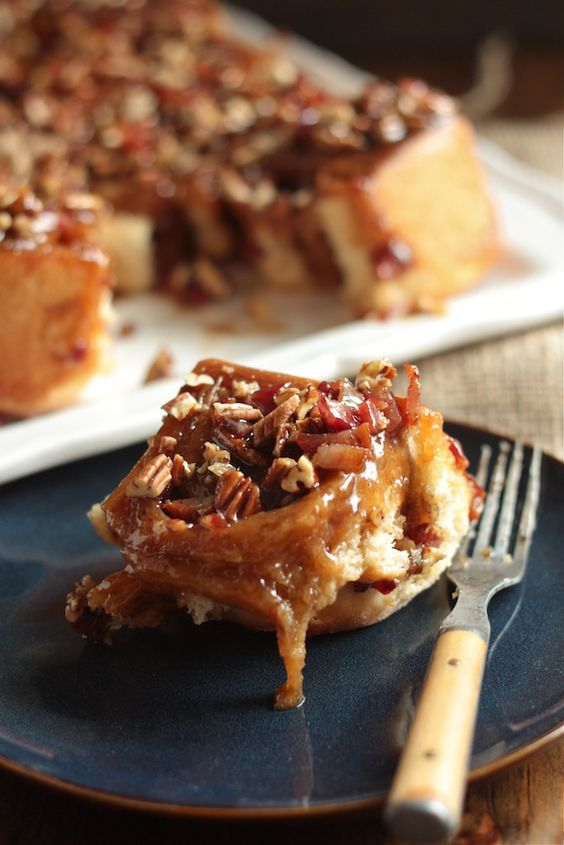 Pecan sticky buns, Sticky buns and Bourbon on Pinterest