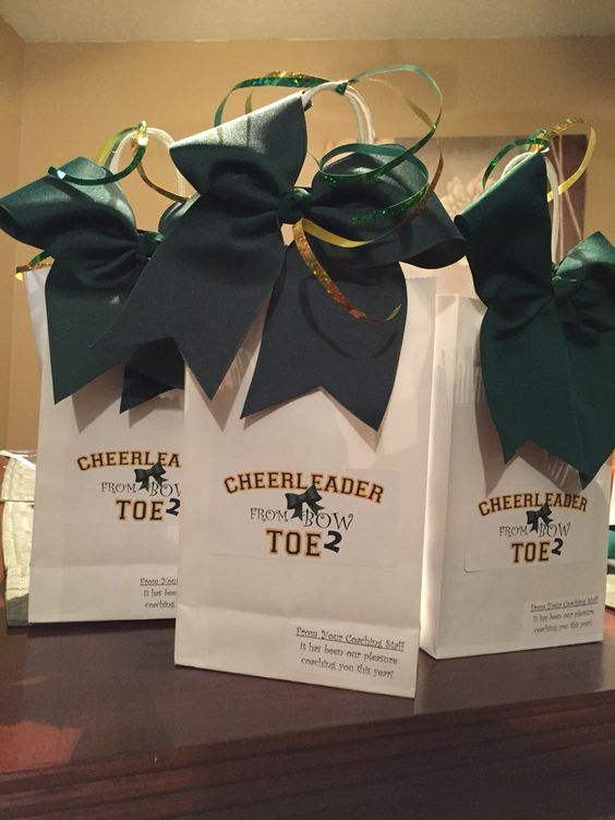 End Of The Year Cheer Gifts Cheer Pinterest Cheer