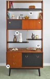 G plan Librenza Teak Shelves Room divider Vintage Retro Mid Century | eBay