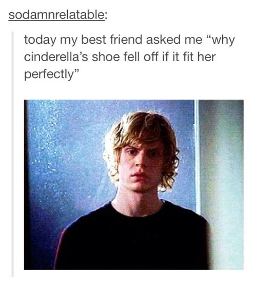 The theory I have offered to this before is she had sweaty feet so the glass shoe was slippery lol