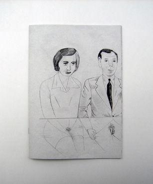 Jockum Nordström -- from his book Drawings 1992 -- 2006