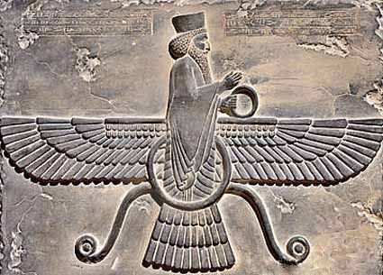 Iran Politics Club: Faravahar History & Art Gallery 2: Historical Faravahars – Ahreeman X