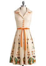 Vintage Dresses - My Bread and Butterfly Dress