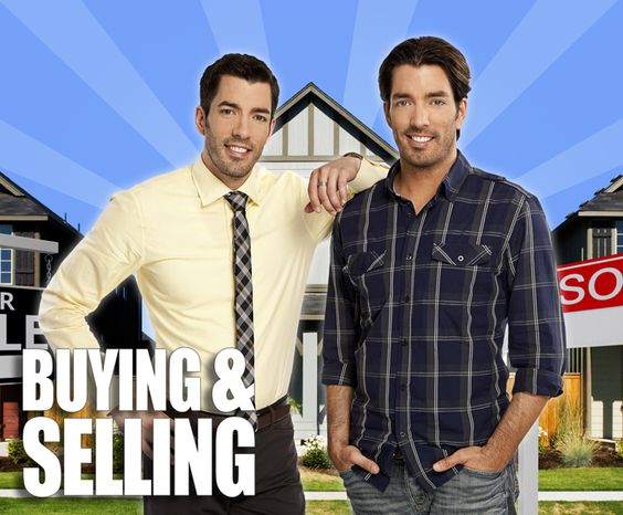 Buying  Selling with the Property Brothers.  Look for Budget Blinds exclusive products and ideas on upcoming episodes!!