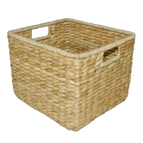 11 X13 5 Aseana Large Milk Crate Natural Threshold Milk Crates Crates Rectangular Baskets
