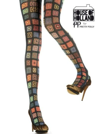 Henry Holland Crochet Tights-Tights, Stockings, Shapewear and more – MyTights.com - The Online Hosiery Store