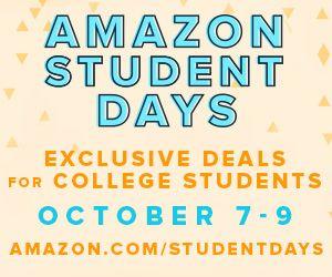 Save on student essentials through 10/15/15