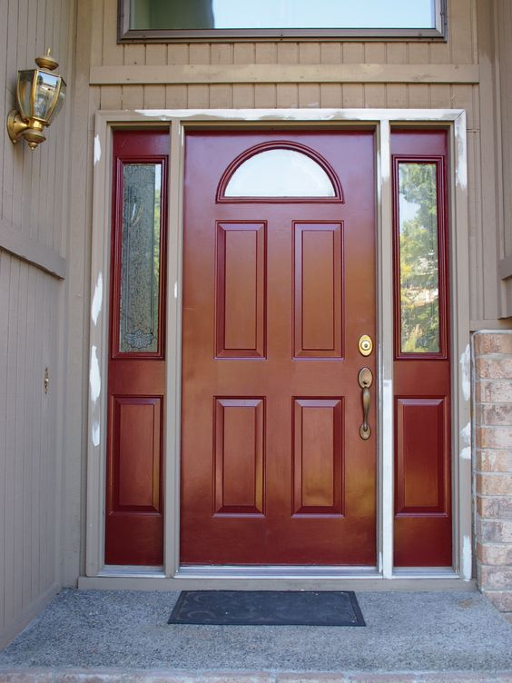 Exterior paint colors for office buildings image door for Office door entrance designs