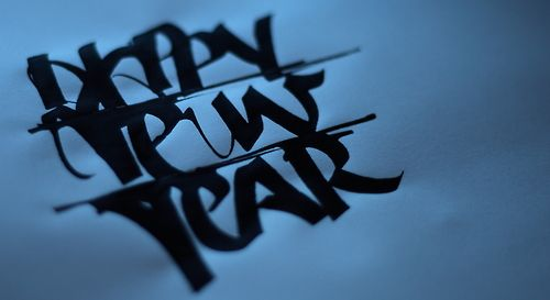 Type Junkie, hebrew-calligraphy: The happy new Year Card by...