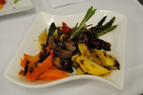 Grilled Vegetables by The Casual Gourmet!