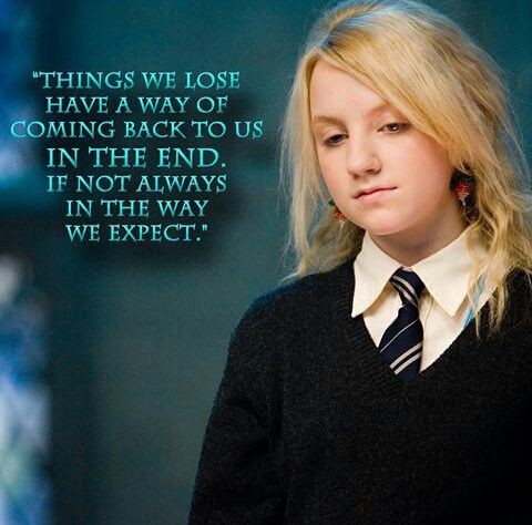Luna Lovegood Quote Things We Love Png Svg Cuttable Etsy Hp Quotes Harry Potter Quotes Luna Lovegood Quotes