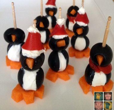 aperitivos pingüinitos
