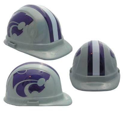 Kansas State University Wildcats hard hat