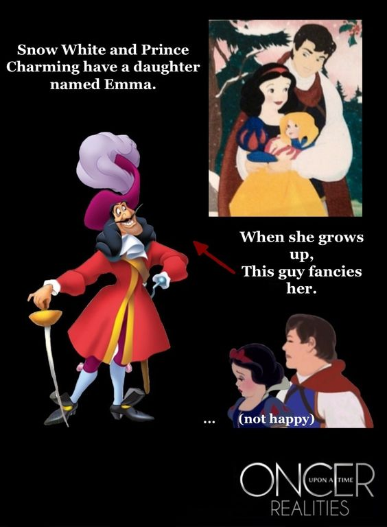 Oncer Realities: Captain Swan...well after the season finale they should be happy she found someone like hook