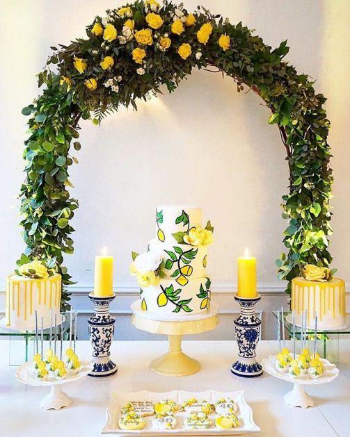 T H E R E I S A S U P E R H E R O I N A L L O F U S W E J U S T N E E D T H E C Lemon Themed Bridal Shower Bridal Shower Theme Bridal Shower Inspo