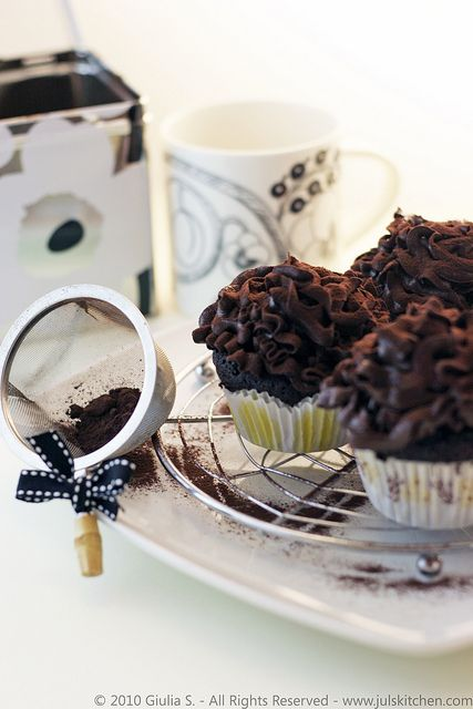 Dutch cocoa cupcakes by Juls1981, via Flickr