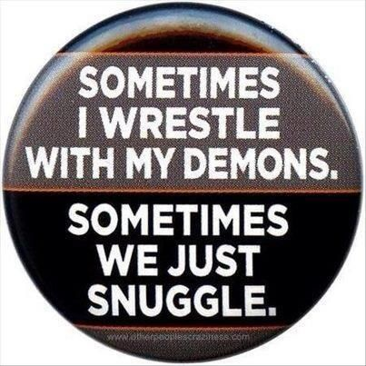 now if i could just choose when we wrestle and when we snuggle.. it would be aperfect world
