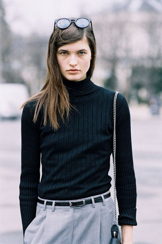 Vanessa Jackman: Paris Fashion Week AW 2015....Julia