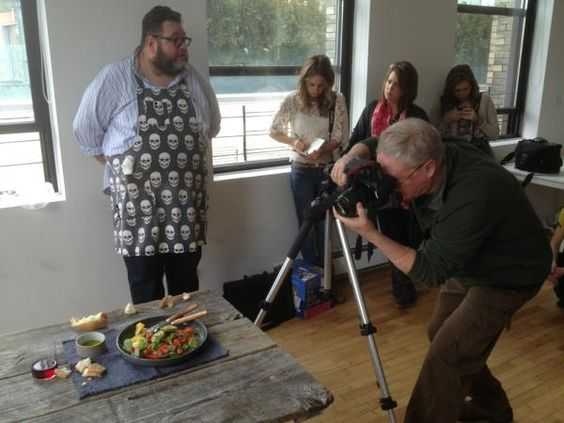 Shot No.3 at the the #sweetpaul food styling & photography workshop.  Photo by Rob Anderson.