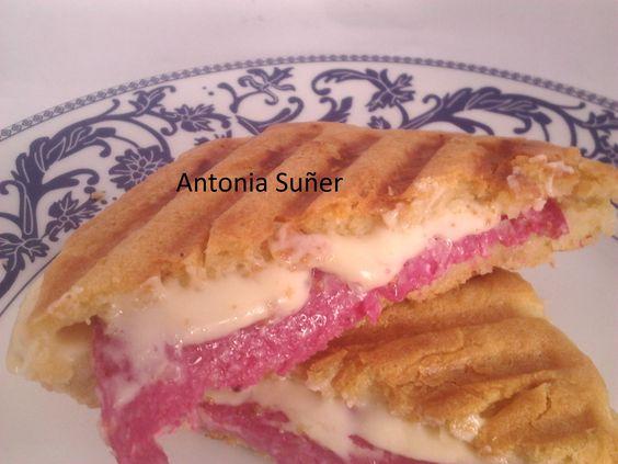 Un delicioso sandwich sin necesidad de hornear pan.