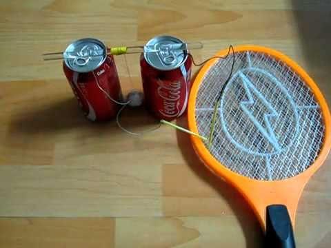واحد من اسهل اختراعات بسيطة يمكن عملها في المنزل تجربة علمية سهلة Fly Swatter Easy Science Experiments Easy Science