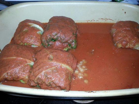 Vegetarian Mediterranean Cabbage Rolls