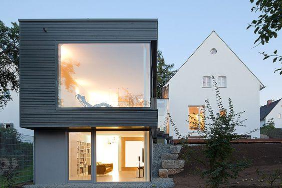 Pin von Ulrike lesenundwissen auf Architektur architecture - haus renovierung altbau london wird vier reihenhauser verwandelt