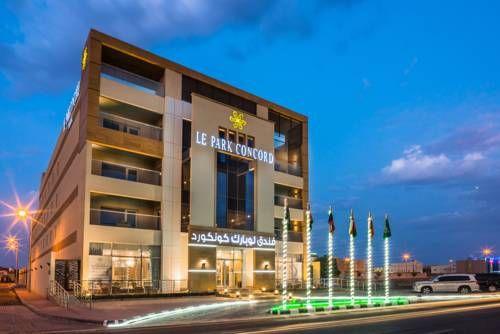 Le Park Concord Hotel Ar Ar فنادق السعودية شقق فندقية السعودية Multi Story Building Structures Building