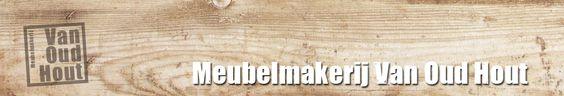 Meubelmakerij Van Oud Hout  Webshops  Pinterest  Van