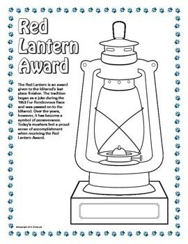 Red Lantern Coloring Pages