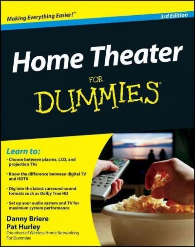 Overwhelmed with big screen TV and home theater audio options? What do you need to build the perfect home theater experience? Home Theater For Dummies, 3rd Edition shows you how to plan a home theater