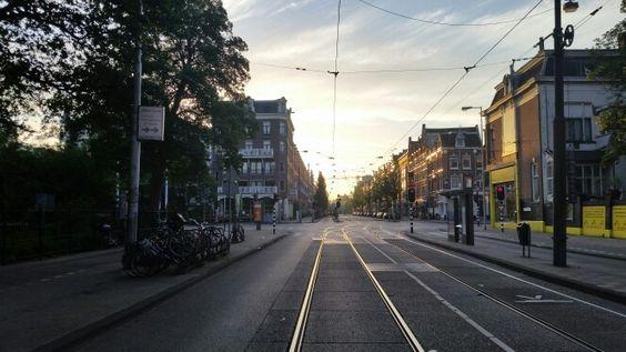 Sunside above amsterdam!