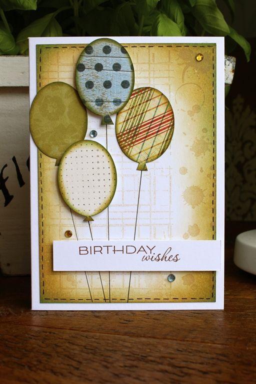 Handmade Birthday Card For Male Friend