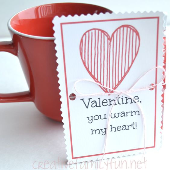 Creative Family Fun: Hot Chocolate Valentines