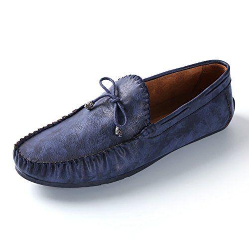 XIGUAFR Chaussure en Cuir daffaire Commercial pour Homme au Loisir Chaussure Oxford de Travail de Ville de Grande Taille Basse Souple