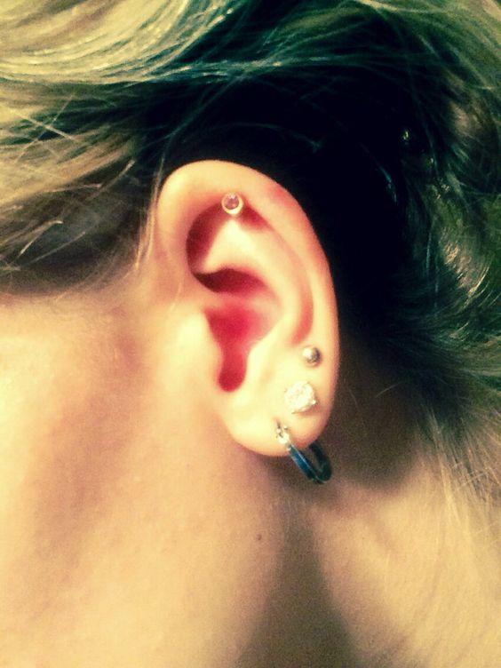 Dem piercings though !! Just pierced my cartilage :)) - Alena :)