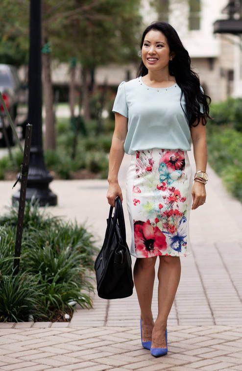Pastels :: Mint + Floral