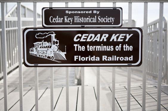 Cedar Key Sign