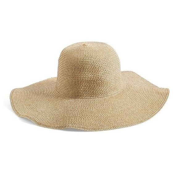 Junior BP. Floppy Straw Look Hat (€20) ❤ liked on Polyvore featuring accessories, hats, natural, floppy hat, flop hat, floppy straw hat, block hats and straw hat