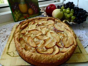 Фото к рецепту: Цветаевский яблочный пирог  с моими небольшими изменениями.