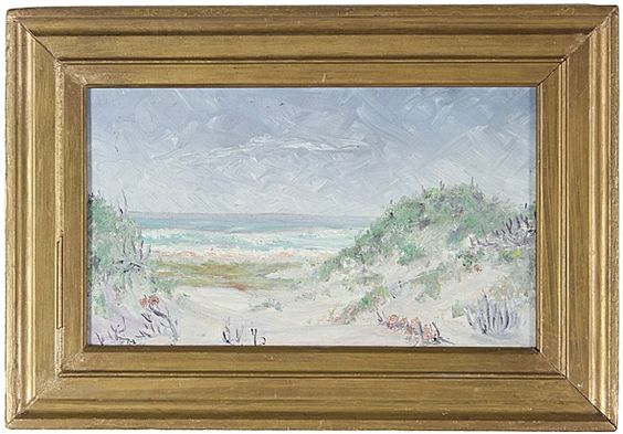 Asilomar State Beach in Pacific Grove, 1939 by Betty Foreman